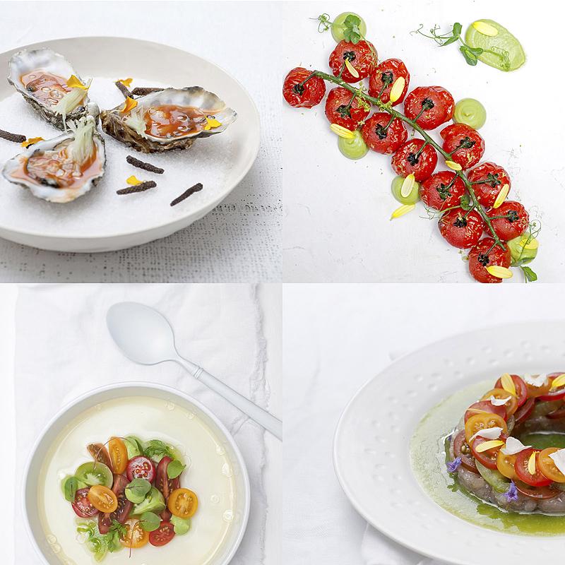 food fotografie voor RedStar tomaten, Niven restaurant, Westland, Den Haag, Rijswijk.